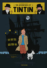 TINTIN POSTER 2 - A3 SIZE 297x420mm - FAST SHIPPING FROM UK