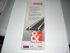 SCATOLA BINARI PIKO MODEL 55204 - G107 - SCALA H0  ( CONTENUTO 6 PEZZI )
