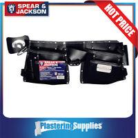 Spear & Jackson Tool Apron Nail Bag 12 Pocket Leather Builders SJ-LPTG12