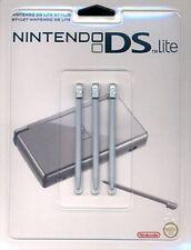 DS Lite Stylus - Silver/NDS Nintendo Pen Set - Gift Idea - 3 stylus pens NEW UK