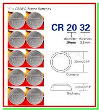 10 PANASONIC Litio CR2032 Batterie Pile CR KECR 2032 L14 SB-T15 LF-1/2V 5004L