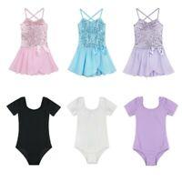 Toddler Girls Kids Gymnastics Dance Dress Ballet Tutu Skirt Leotard Dancewear