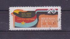 (A) Vietnam 2 gestplt. FAHNE FLAGGE FLAG INDEPENDANCE UNABHÄNGIGKEIT