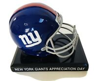NFL New York Giants Appreciation Day Mini-Helmet - West Point NY September 2008
