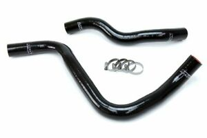 HPS Black Silicone Radiator Hose Kit Coolant for Acura 07-08 TL Type-S 3.5L V6