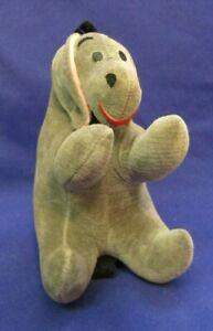 Vintage 1960's Disney Sawdust Winnie The Pooh Stuffed Eeyore Plush  Japan