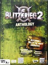 * Blitzkrieg 2 Anthology + Liberation + Fall Reich * PC DVD GAME * new Sealed *
