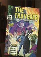 THE TRAVELER #1 (9.2) SIGNED BY STAN LEE!! 2010