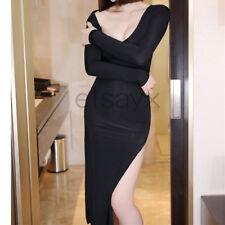 Women Long Skirt See Through Lingerie