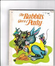 The Rabbits Give a Party---Lucie Dermine---Simonne Baudoin---hc---1977