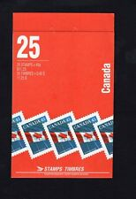 Canada 1995 25 x 45c Flag P13.5 1361e  50% Recycled Symbol Back Booklet BK178Ab