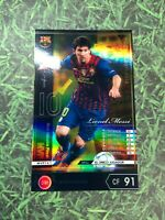 Panini Footistaver Lionel Messi 2011-2012 MVP WCCF refractor card