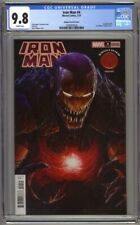 Iron Man #4 CGC 9.8 Knullified Dave Rapoza Variant Cover (2021) Highest Graded