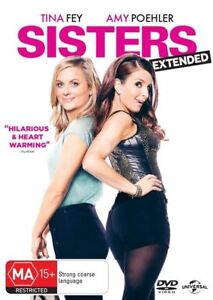 Sisters - EXTENDED EDITION (DVD, 2015) COMEDY - REGION 4 - FREE POSTAGE!!