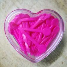 Pic plastique Rose x100