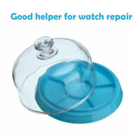 Watch Jewelry Dust Cover Guard Tray Spare Parts Protector Watchmaker Repair Tool