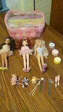 Barbie Wee 3 Friends Ballet Ballerina Best Friends Dolls Set Storage Case