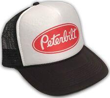 Peterbilt Trucker Hat Vintage Farmer Semi Truck Mesh Style Snapback Cap! 2197