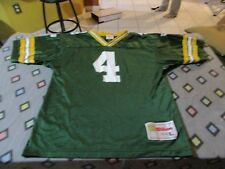 Brett Favre #4 Green Bay Packers Vintage Wilson Jersey Size Youth L NFL