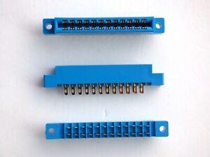 1 X COMMODORE 64/c64/sx64/128/vic-20/ user port edge connector  24 pin solder