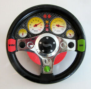 HOT WHEELS Race Car Steering Wheel, talks, vibrates & car noises, 1999 release