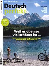 Deutsch perfekt, Heft Juli 7/2017: Berge Alpen  +++ wie neu +++