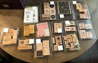 Stampin Up Lot Of Stamps Sets