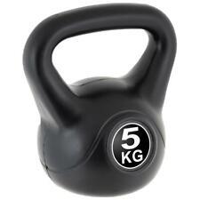 MAXXIVA Kettlebell Kugelhantel 5kg schwarz Krafttraining Fitness Rundhantel