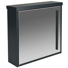 Design-Briefkasten MOCAVI Box 102 Edelstahl/anthrazitgrau RAL 7016 Wandbriefkast