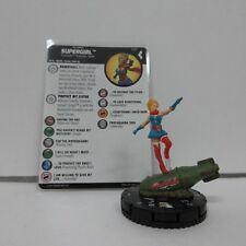 DC HeroClix Harley Quinn and the Gotham Girls Supergirl SR 051 Fig w/ Card D01