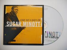 SUGAR MINOTT : LEAVE OUT A BABYLON ♦ CD ALBUM PORT GRATUIT ♦