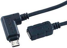 Rallonge Micro-USB avec connecteur angulaire - 1,80m