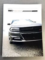 2015 Dodge Charger 48-page Original Car Sales Brochure - Hellcat SRT RT Scat