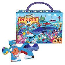 Eeboo Sea Life 20 Piece Puzzle
