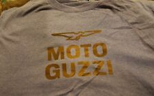 Vintage 1970's Moto Guzzi Motocross Motorcycle Dirt Bike T Shirt