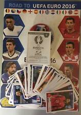 ROAD TO UEFA EURO 2016 France Empty album complete set  brand new stickers