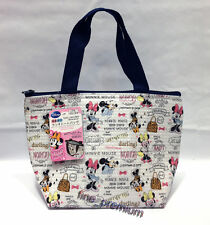 Disney Minnie Mouse Insulated School Lunch Food Snack Storage Mini Tote Bag