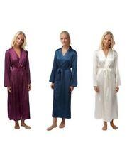 Satin Robes Machine Washable Sleepwear for Women