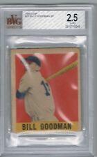 1949 Leaf BILL GOODMAN # 30 (BVG 2.5 G-VG) SP RC Rookie MLB (349