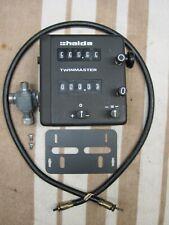HALDA TWINMASTER w/ rare metal case, Halda gearbox, cable & bracket, Heuer Rally
