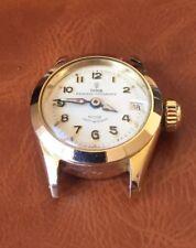 Rolex Tudor Princesa Oysterdate señoras reloj automático Ref. 7976 Raro Chapado en Oro