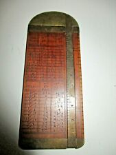 Vintage Collectable Nautical Rope Makers Rigger's Measure Instrument Gauge Tool