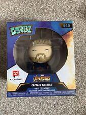 Dorbz Pop Funko Capitán América Marvel Infinity Guerra Walmart Exclusiva Limitada