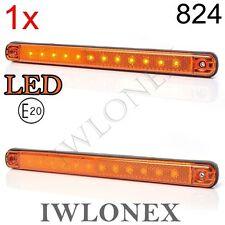 LED Umrissleuchte Positionsleuchte Seitenmarkierungsleuchte Gelb 12V 24V ABE