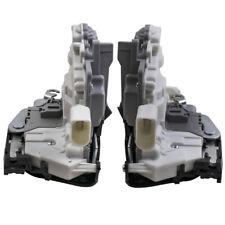 2x PARA SEAT LEON 1P1 ALTEA TOLEDO MK3 FRONT DOOR LOCK MECHANISM 1P1837015/6 LHD