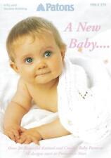 "Patons 'A New Baby"" Knitting Pattern *"