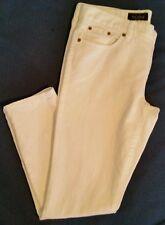 J Crew Womens Toothpick jean white #59424 size 32 denim skinny slim cropped $125