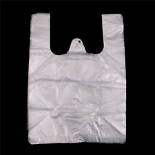 40X 20*28cm White Retail Merchandise Supermarket Grocery Plastic Shopping Bag FD