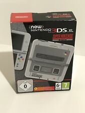 -Rare- New Nintendo 3DS XL EAU Super Nintendo Edition Console -Brand New-