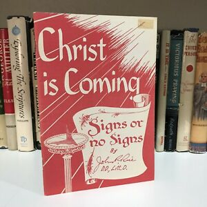 """""""Christ is Coming"""" by John R. Rice & Sword of the Lord"""